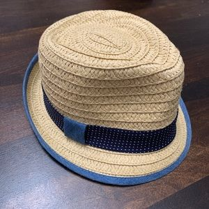 Adorable Paper Straw Hat 0-6 Months